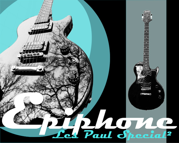Epiphone Les Paul Special 2- Artwork by JOtwell