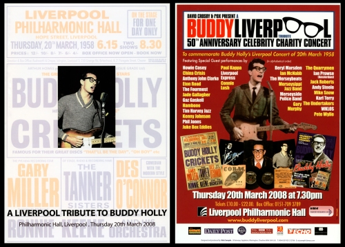 A Liverpool Tribute to Buddy Holly